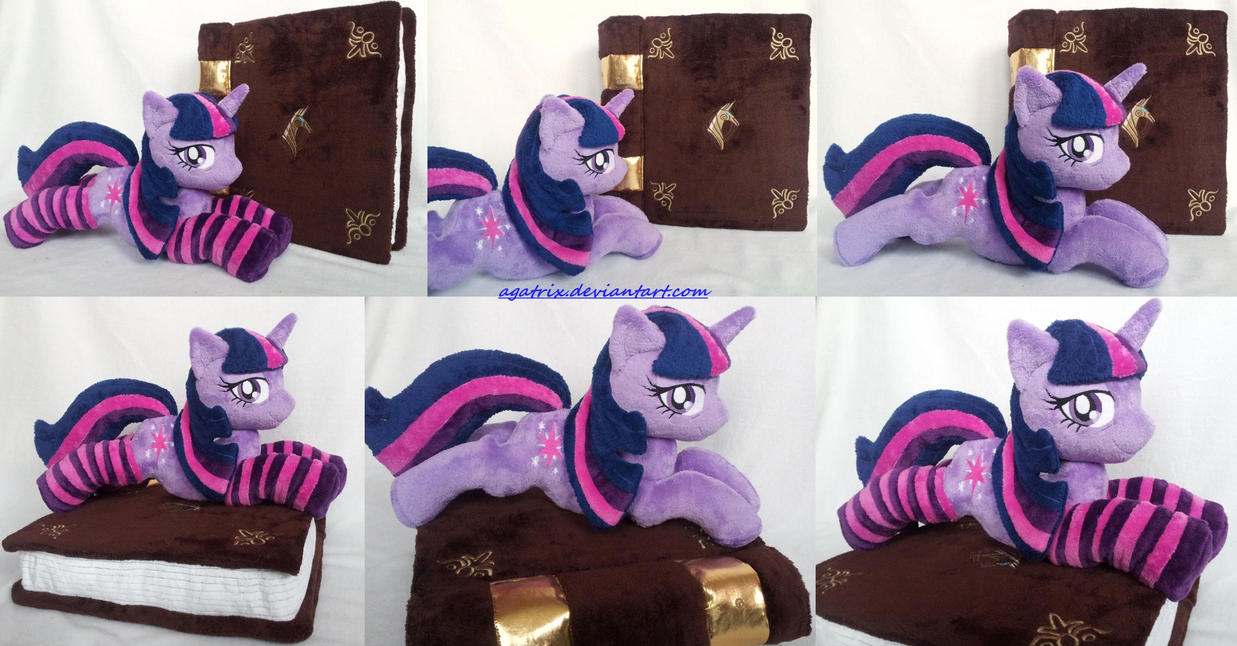 Twilight Sparkle with Elements of Harmony plush by agatrix