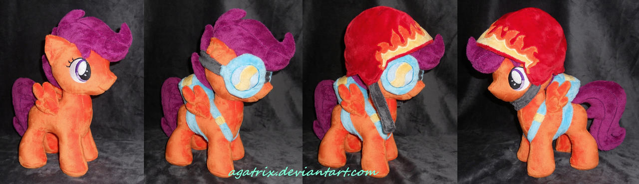 Scootaloo by agatrix