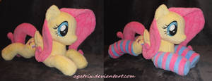 Laying Fluttershy