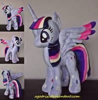 Rainbow Power Princess Twilight Sparkle plush by agatrix