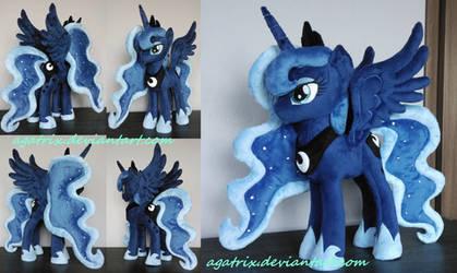 Princess Luna plush by agatrix