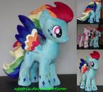 Rainbow Power Rainbow Dash plush