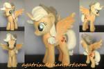 Alicorn Applejack plush