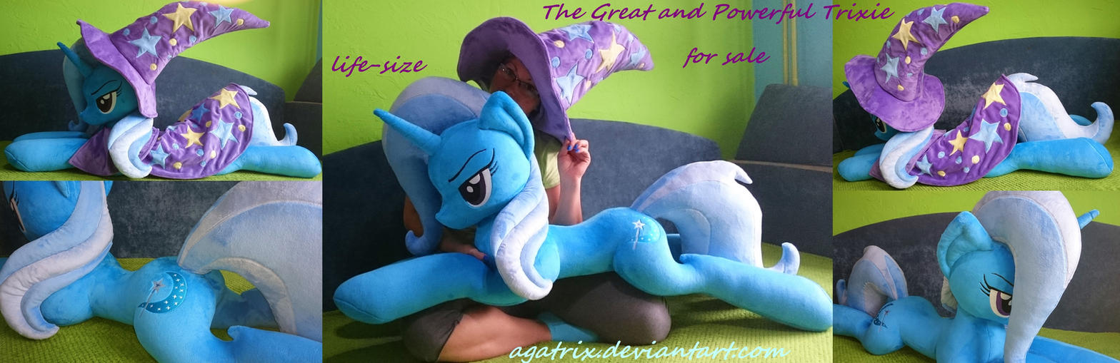 The Greatest life-size Trixie plush SOLD by agatrix