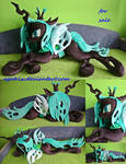 Life size (laying down) Queen Chrysalis SOLD
