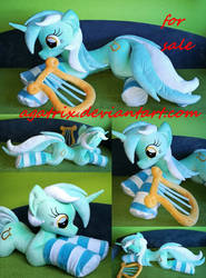 Life size (laying down) Lyra plush for sale by agatrix