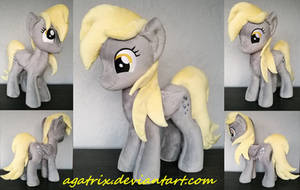 Derpy Hooves plush by agatrix