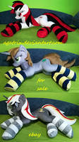 Blackjack-Littlepip-Velvet Remedy plush SOLD by agatrix