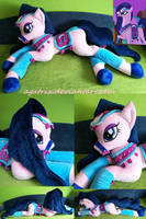 Amira one of the Saddle Arabia delegates plush by agatrix
