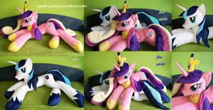Life size Princess Cadence and Shining Armor SOLD