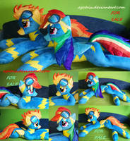 Wonderbolt Spitfire plush for sale by agatrix