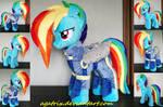Rainbow Dash (battle outfit) plush