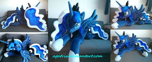 <b>Life Size (laying Down) Princess Luna Plush</b><br><i>agatrix</i>