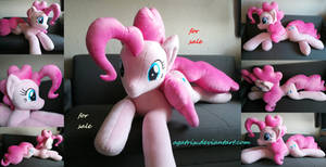 Life size(laying down)Pinkie Pie SOLD by agatrix