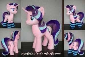 Starlight Glimmer plush by agatrix