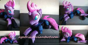 Life size(laying down)Tempest Shadow plush by agatrix