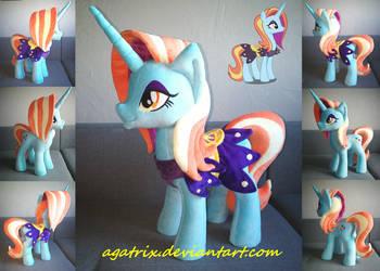 Sassy Saddles plush by agatrix