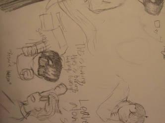 Misc. Vampire doodles by Sailorkittystar