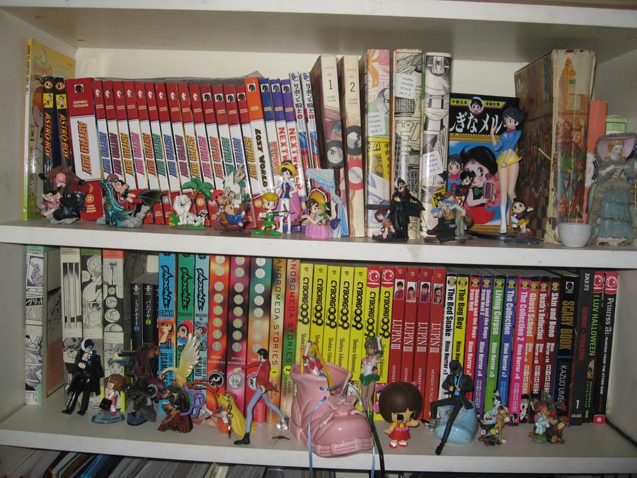 The Tezuka shelf by Sailorkittystar