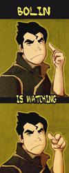 He's watching you.. by Soldjagurl