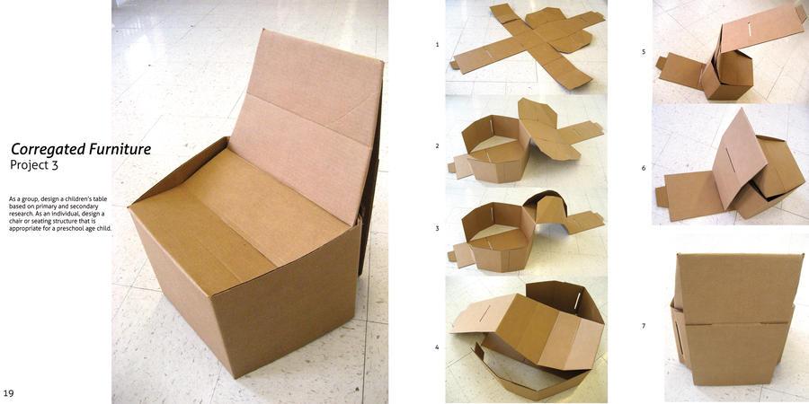 Cardboard Chair By Amlam On DeviantArt