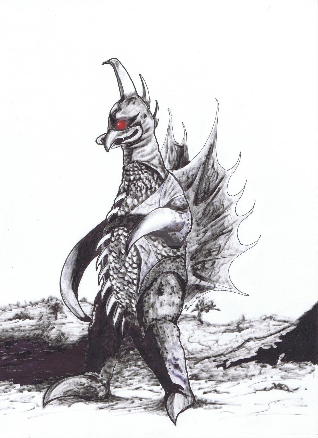 Kaiju 04 by Zepeda