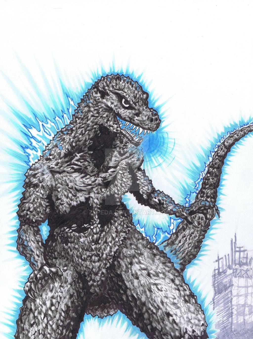 Kaiju 01 by Zepeda