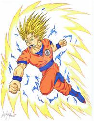 Goku Super Saiyon Commission