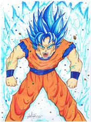 Goku Blue Commission