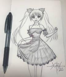 Hatsune Miku sketch