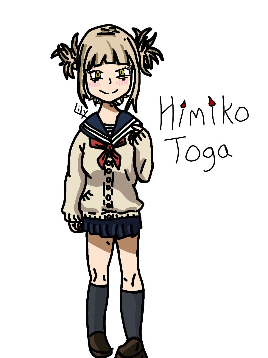 Himiko Toga Fan Art