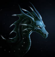 deep sea dragon by Chilkat