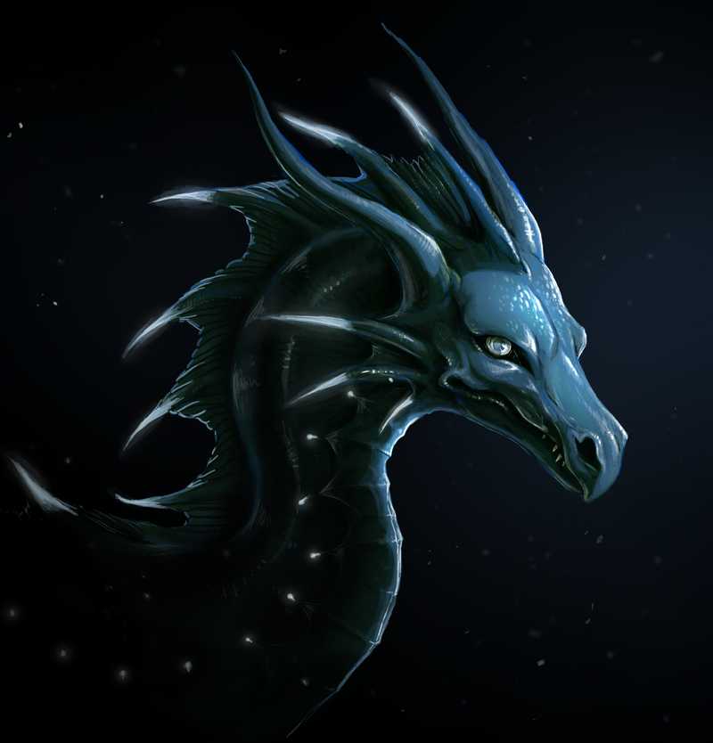 deep sea dragon by Chilkat on DeviantArt