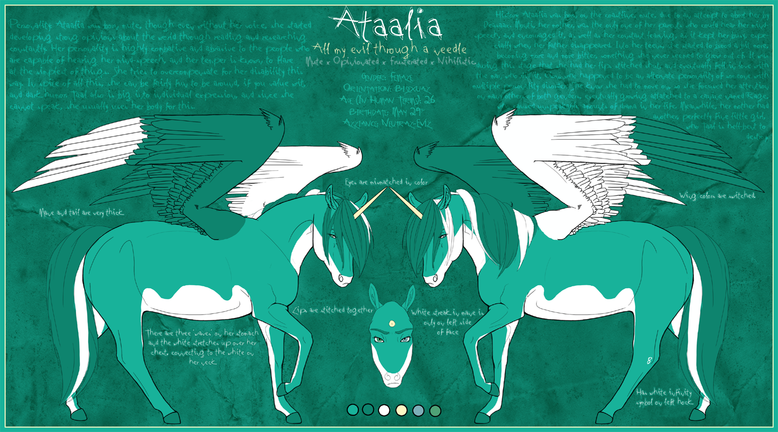 . Ataalia . by Diikae
