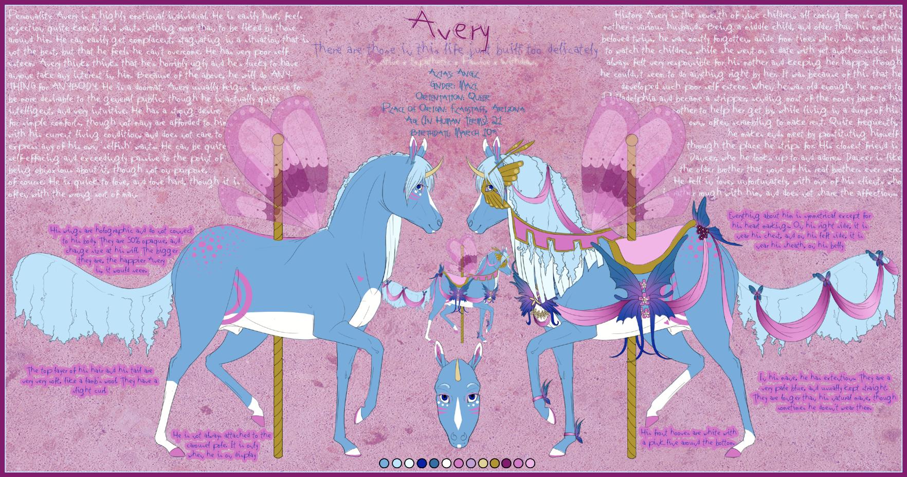 . Avery . by Diikae
