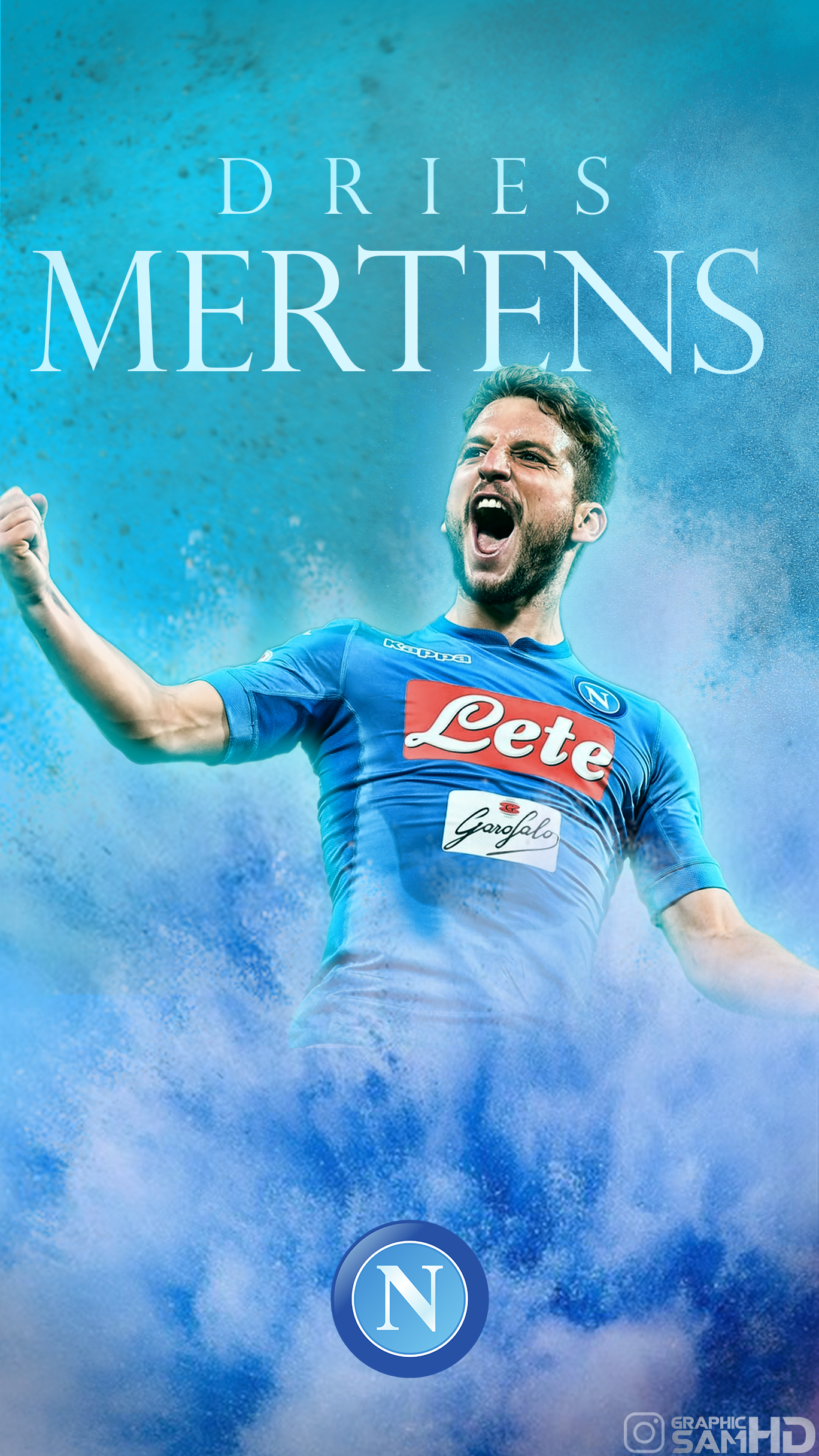Dries Mertens Phone Wallpaper 2017/2018 by GraphicSamHD on ...