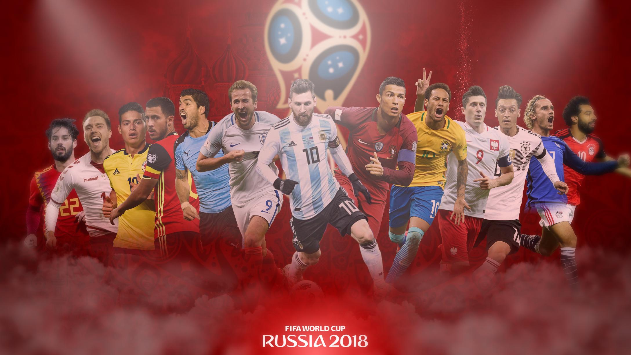 FIFA World cup 2018 Russia Desktop Wallpaper by GraphicSamHD