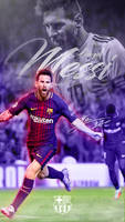 Lionel Messi Phone Wallpaper 2017/2018 by GraphicSamHD