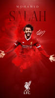 Mohamed Salah Phone Wallpaper 2017/2018 by GraphicSamHD