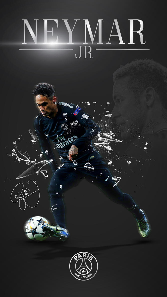 Neymar Jr Phone Wallpaper 2017 2018 By GraphicSamHD