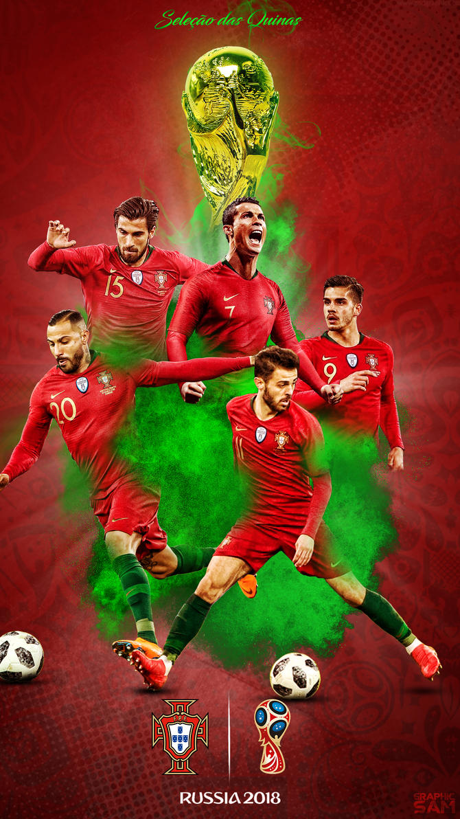 portugal world cup phone wallpaper 2018 by graphicsamhd on