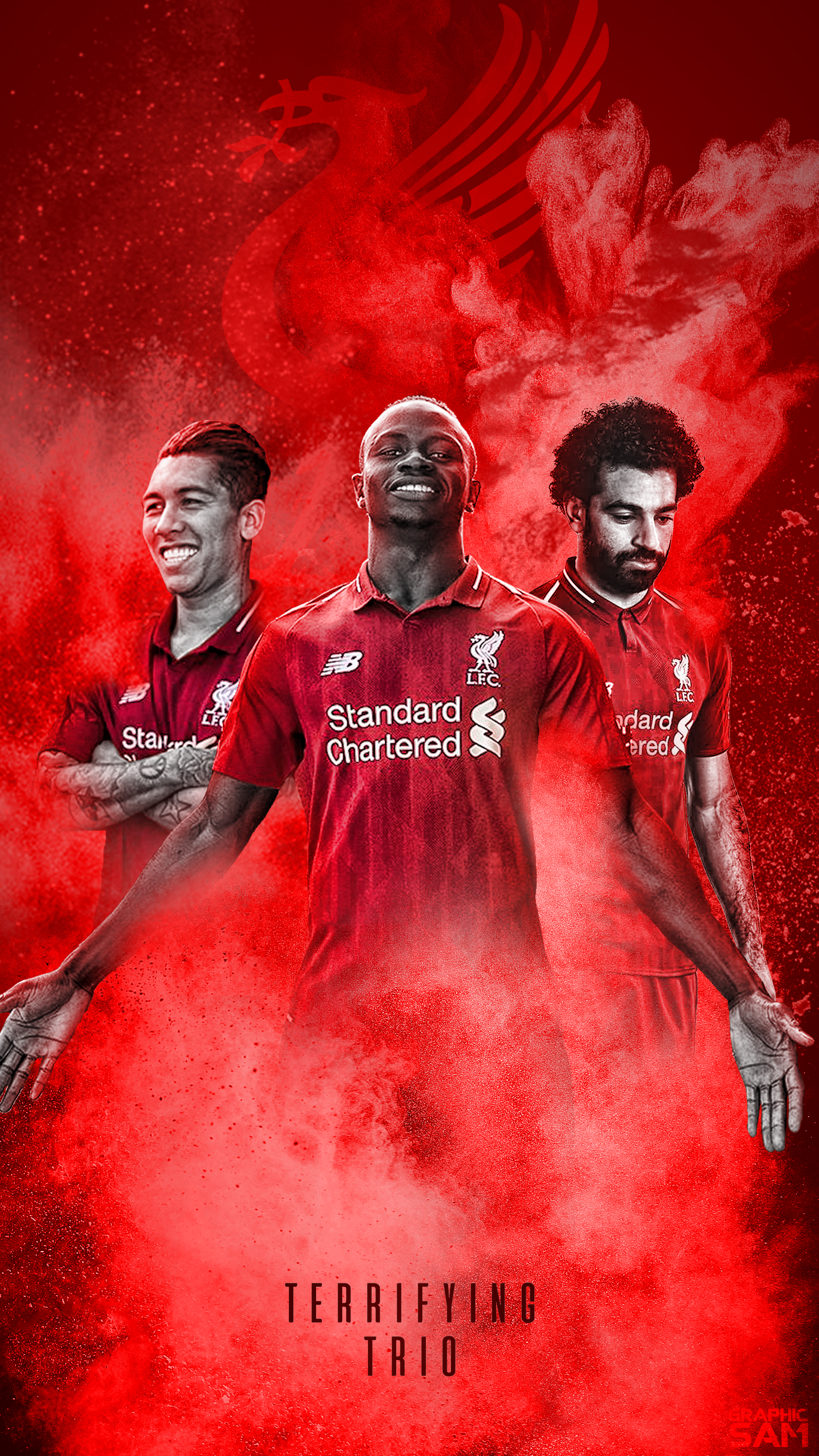 Liverpool Phone Wallpaper 2018/2019 by GraphicSamHD on ...