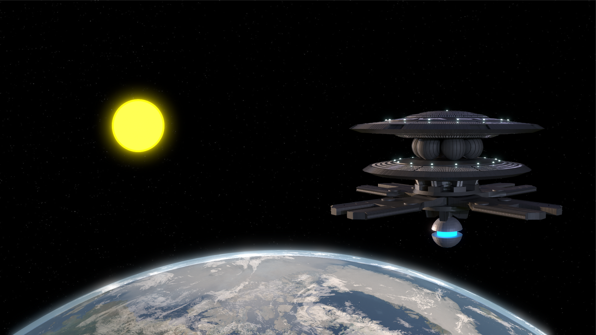 Nova Station Orbiting Earth (c. 2230)