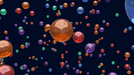 Abstract Glass Spheres