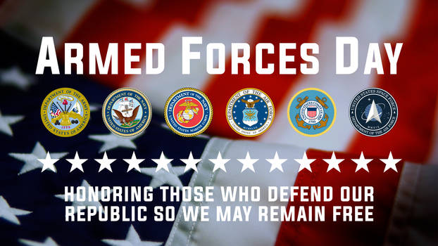 Armed Forces Day Poster 2021