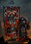 Grey Knights Banner