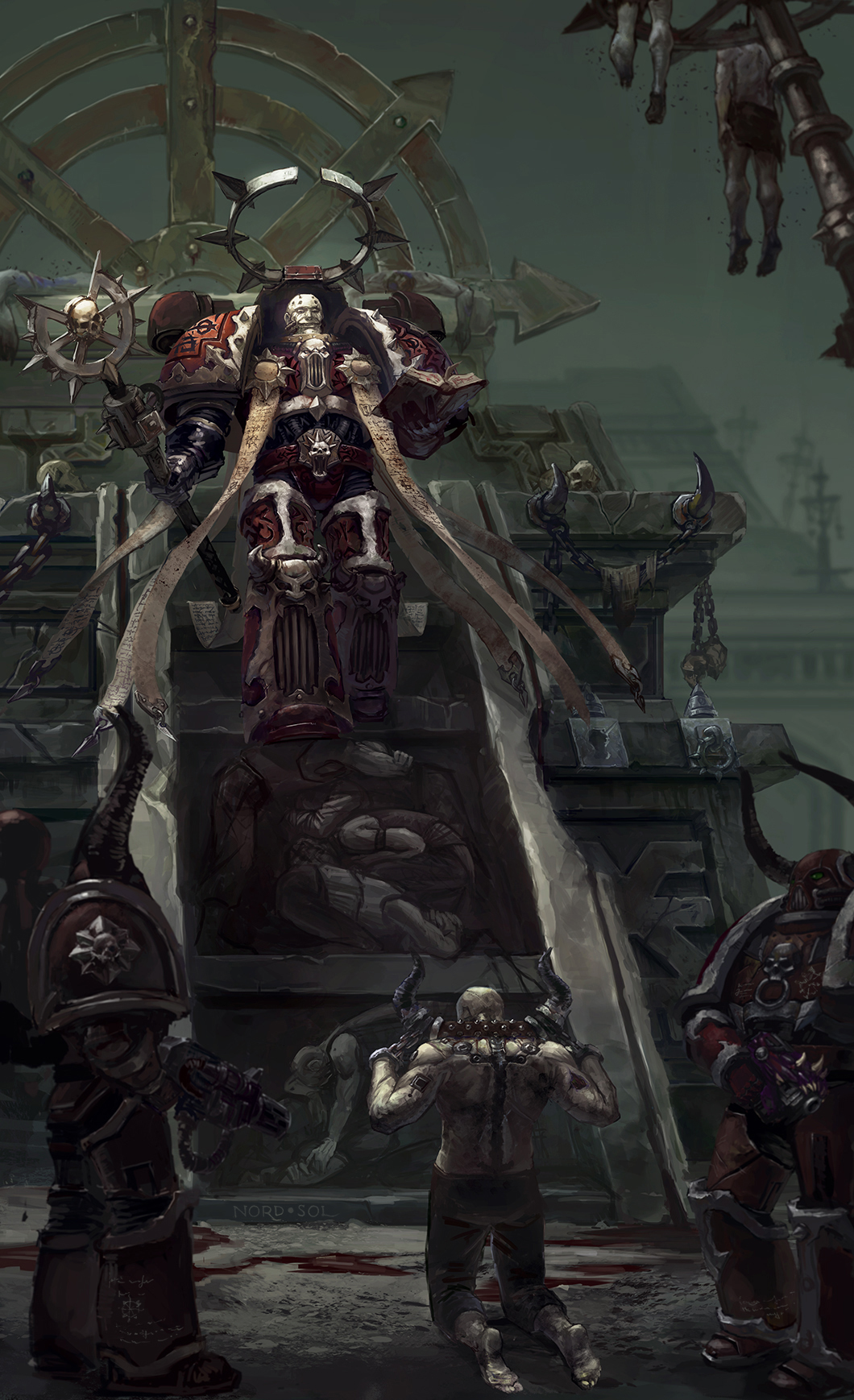 [W40K] Collection d'images : Space Marines du Chaos - Page 6 Dark_apostle_by_nord_sol-d80xm36