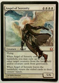 Angel of Serenity alter