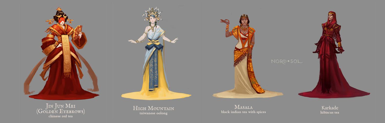 Tea Princesses Part 2 by Nord-Sol
