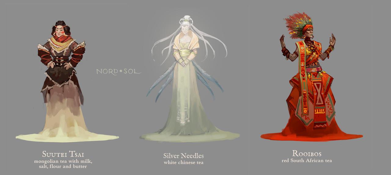 Tea Princesses Part 1 by Nord-Sol